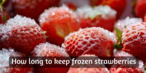 Here's How Long Frozen Strawberries Last, And How To Keep Them In Top Shape