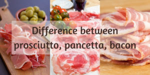 Read more about the article 3 Differences Between Prosciutto, Pancetta, And Bacon (And Why They Matter)