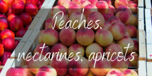 3 Differences Between Peaches, Nectarines, And Apricots
