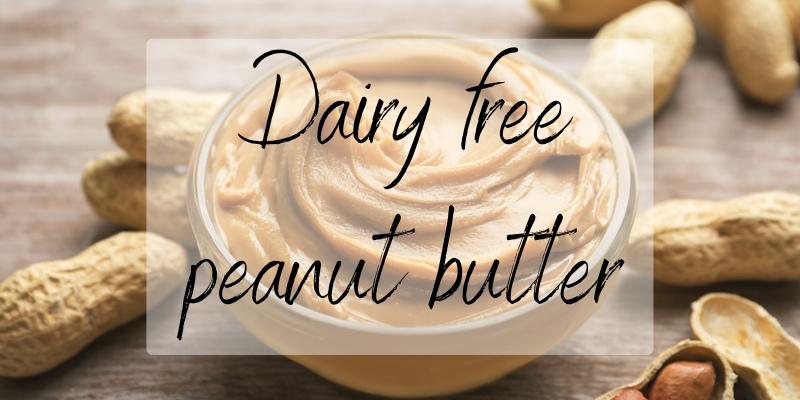 peanut butter dairy
