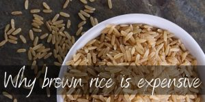 Read more about the article 4 Reasons Brown Rice Is More Expensive Than White Rice