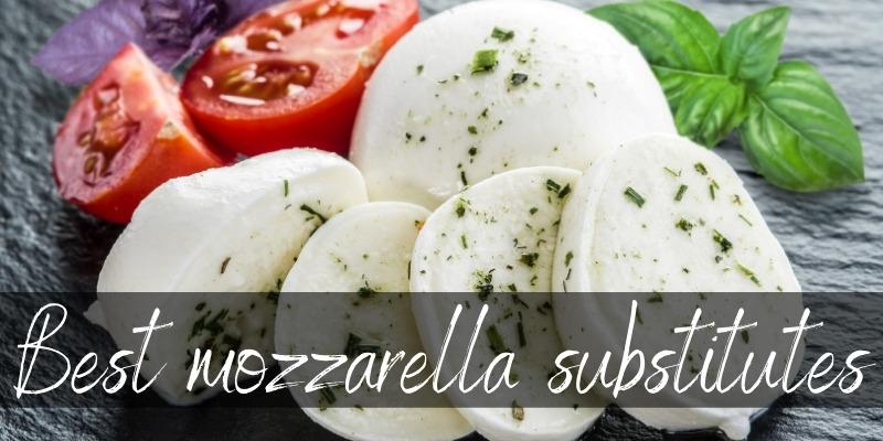 mozzarella substitutes