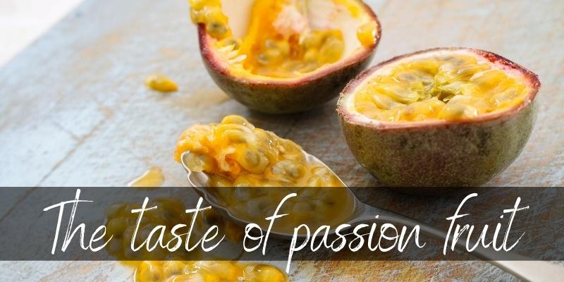passion fruit taste