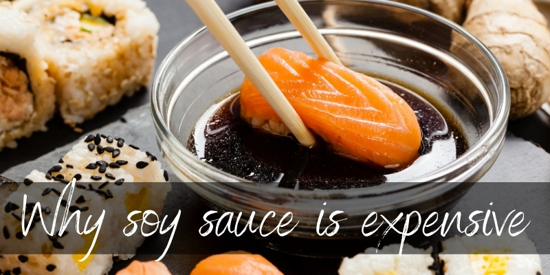 Read more about the article Here's Why Real Soy Sauce Is So Expensive