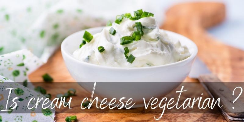 cream cheese vegetarian