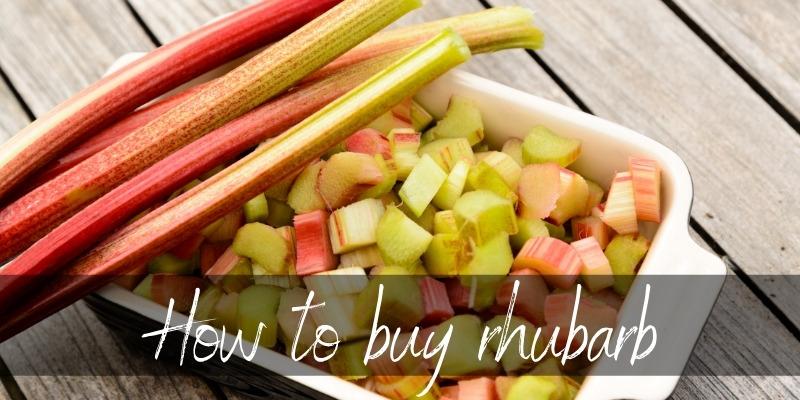 buy rhubarb