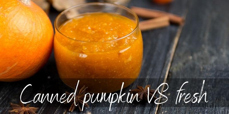 canned pumpkin fresh