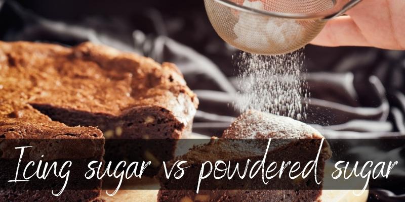icing sugar powdered sugar