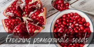 Read more about the article Can Pomegranates Be Frozen ? Yes, Here's How !