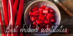 Best Rhubarb Substitutes – 6 Ideas To Try next