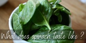 Read more about the article What Does Spinach Taste Like? Here's All You Need to Know!