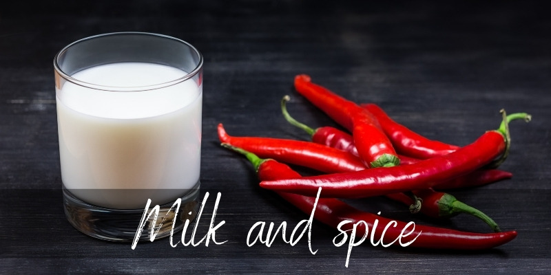 milk and spice