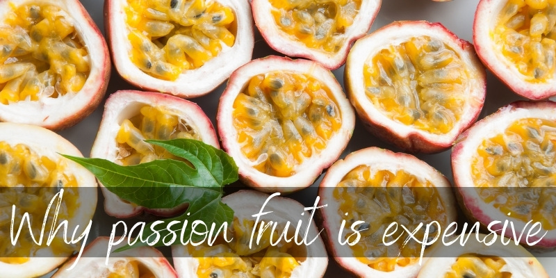 passion fruit expensive