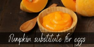 Read more about the article Pumpkin Substitute For Eggs – Here's How To Do It