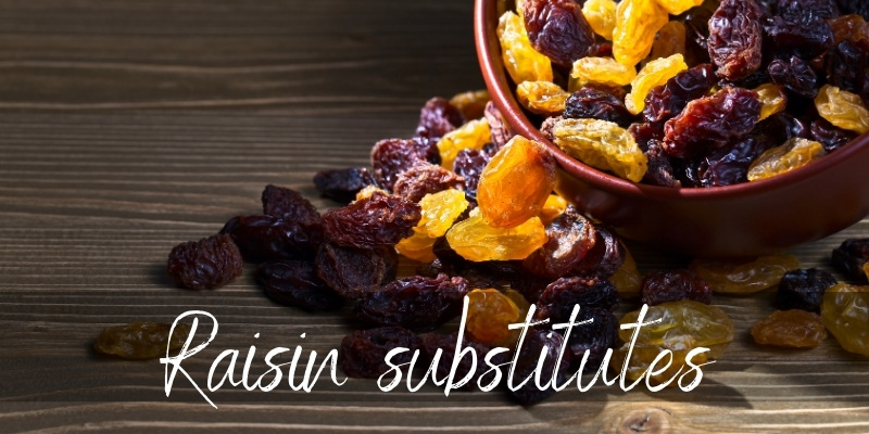 Read more about the article Raisin Substitutes – 7 Chewy And Flavorful Ideas