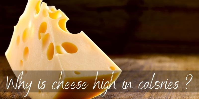 cheese high calories