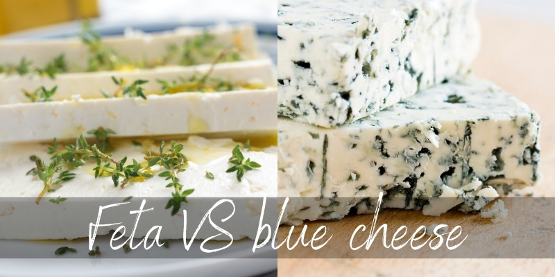 Read more about the article Blue Cheese VS Feta – 6 Key Differences