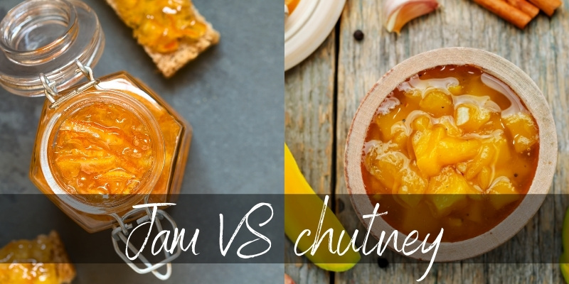 Jam VS Chutney – 6 Differences & How They're Used