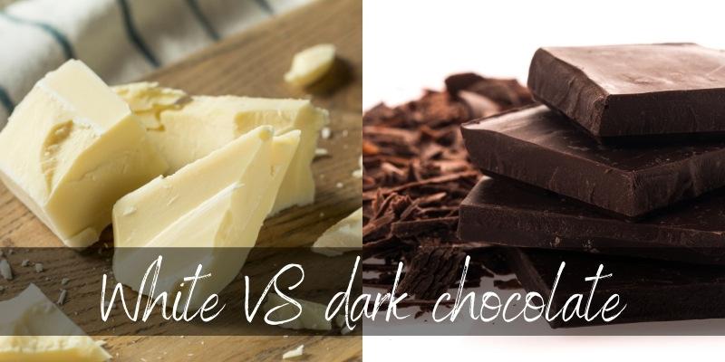 Dark VS White Chocolate – 4 Key Differences