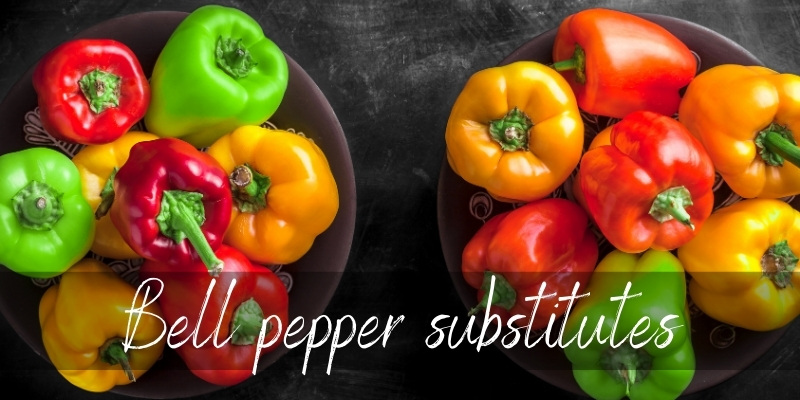 Read more about the article Bell Pepper Substitutes – 11 Crunchy, Colorful Ideas