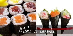 Read more about the article Maki VS Temaki – 4 Differences & How To Tell Them Apart
