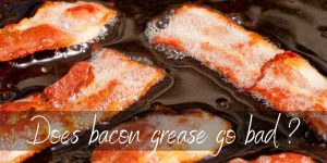 Does Bacon Grease Go Bad ? Yes, And Here's How To Store It