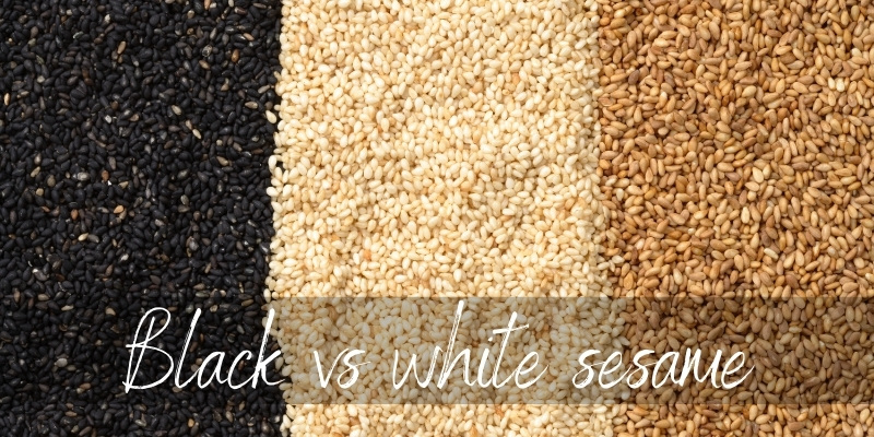 Read more about the article Black VS White Sesame Seeds – Just How Different Are They ?