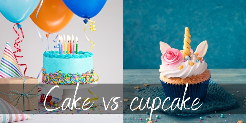 Read more about the article Cakes VS Cupcakes – 7 Things To Consider