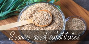 Read more about the article Sesame Seed Substitute – 7 Nutty Ideas To Try Next