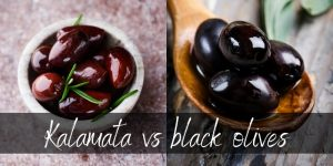 Read more about the article Kalamata VS Black Olives – 3 Juicy Differences