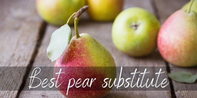 pear substitute