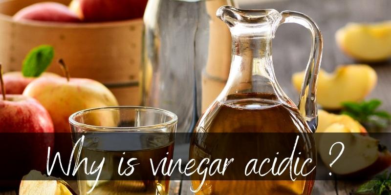vinegar acidic
