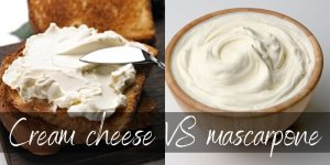 Read more about the article Mascarpone VS Cream Cheese – How They Differ & Why