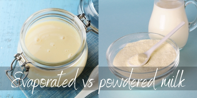Read more about the article Powdered Milk VS Evaporated Milk – What They Are & How To Use Them