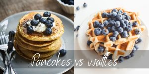 Pancakes VS Waffles – 4 Differences Between Sweets