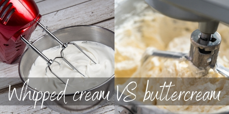 Whipped Cream VS Buttercream – How To Pick Which To Frost With