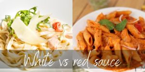 Read more about the article White VS Red Sauce – How They Differ & A Few Delicious Alternatives